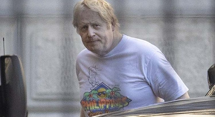 LOOK: British PM Boris Johnson spotted wearing Philippines t-shirt
