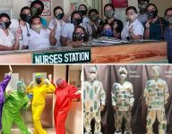 Filipinos create the coolest PPE for frontliners to fight Covid-19 with style
