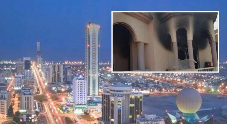 Man trapped in burning Fujairah villa rescued