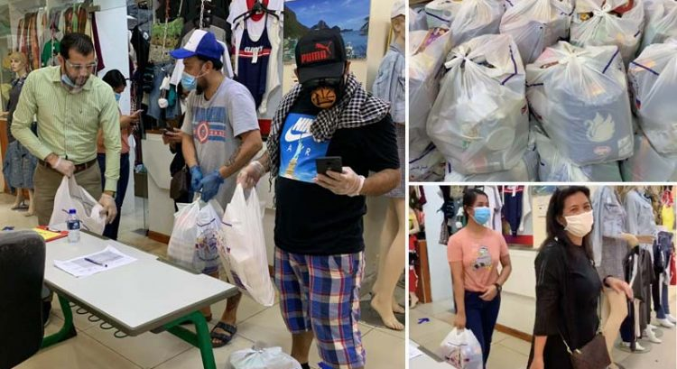 Jobless Filipinos get free groceries in Dubai