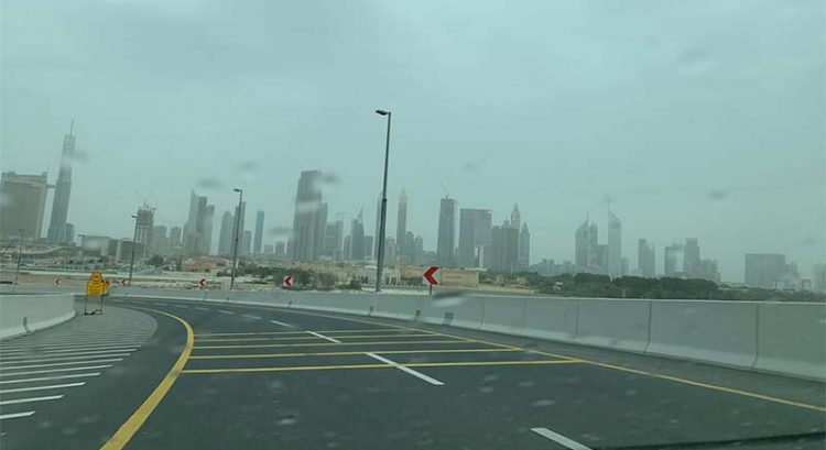 Hail in Sharjah, rain in UAE, more rainfall forecast until Tuesday