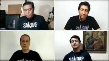 Sakdap prays with the world in Gospel song amid Covid-19 pandemic