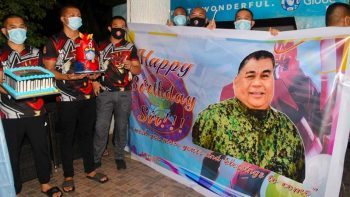Duterte defends police chief Sinas on Covid-19 birthday controversy