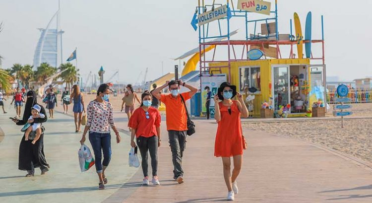 721 beachgoers fined in Dubai for breaking Covid rules