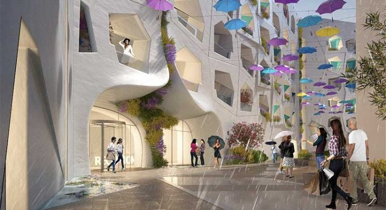 Dubai to create street where it rains all year round