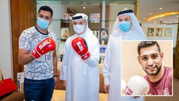 Amir Khan to join sports stars who call Dubai home