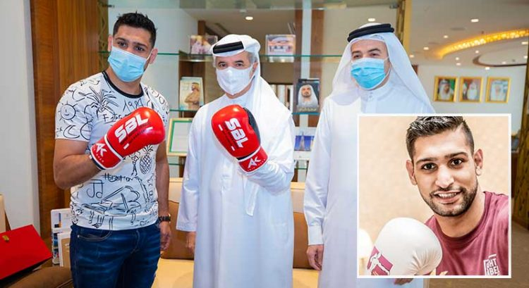 Amir Khan to join sports stars who call Dubai home