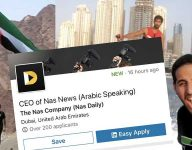 Nas Daily looking for CEO in Dubai, specialist in Philippines