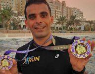 400 join Ajman virtual half marathon