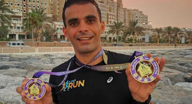 400 join Ajman virtual half marathon