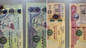 Dubai Police issues warning after man disinfects dirhams in microwave, ends up burning bills