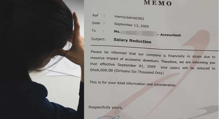 How Filipina expat in UAE survived salary cuts in 2009 and 2020