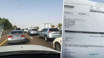 Long car queues, 2-week wait for appointment at Abu Dhabi Covid-19 rapid test centre in Ghantoot