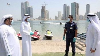 Sharjah public beaches allowed to reopen