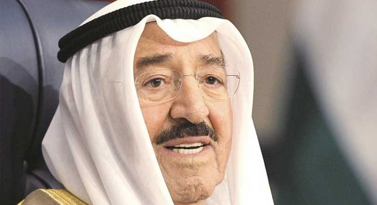 Kuwait Emir travels to US for medical treatment