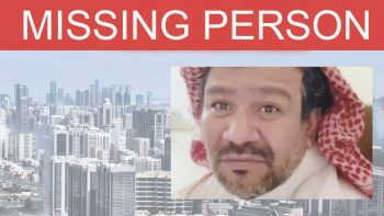 UAE missing person: Have you seen this Emirati man?
