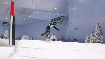 World's first social distancing snow sports competition to be held in Dubai
