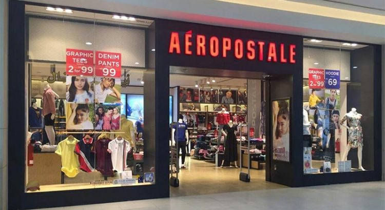 Everything for Dh69 or less at Aeropostale Al Ghurair Centre sale