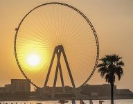 Ain Dubai world's tallest observation wheel one step closer to completion