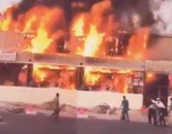 125 shops destroyed in Ajman souq fire