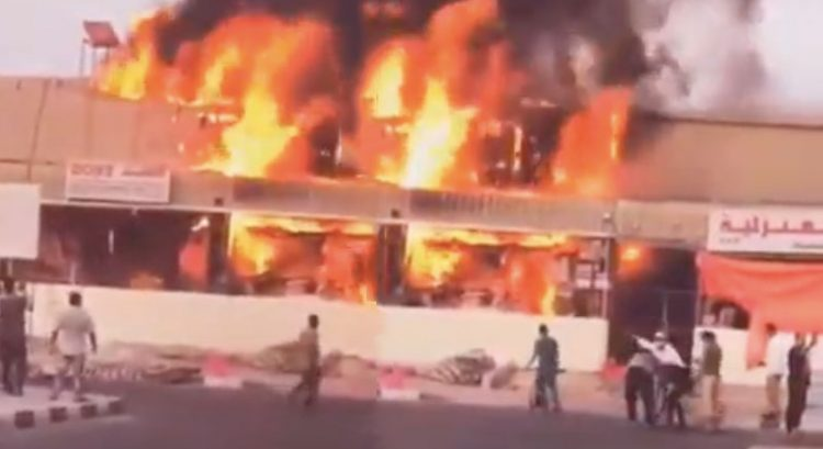 125 shops destroyed in Ajman souq fire