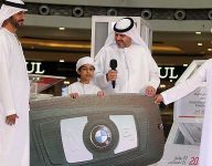 Emirati boy wins BMW X2 in Sharjah Shopping Promotions draw