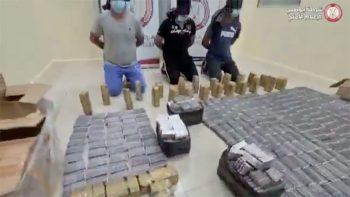 Abu Dhabi drug bust: 7 nabbed, 1.2 million narcotic pills seized