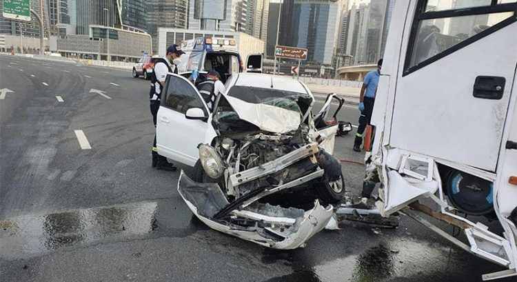 Car accident-prone hours, days in UAE revealed