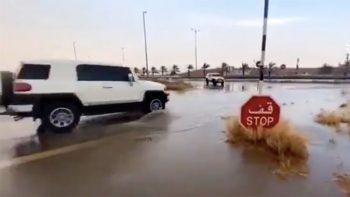 Chance of rain, more haze forecast in UAE