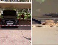 Sheikh Hamdan cordons off SUV over unlikely passenger