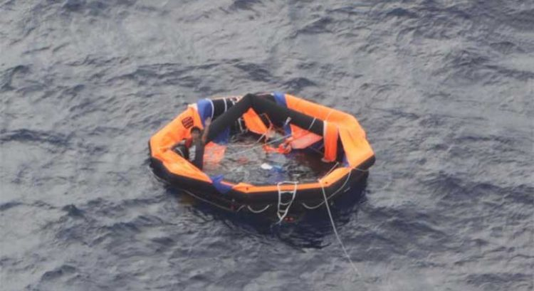 2 Filipinos rescued from sunken ship in Japan, Dubai ship operator 'prays' for more survivors
