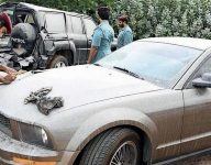 820 abandoned cars impounded in UAE