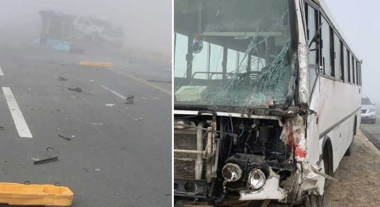 3 killed, 2 injured in Abu Dhabi bus crash