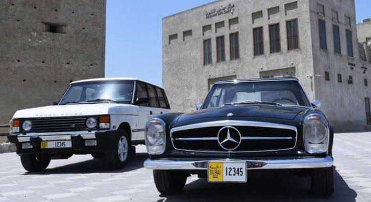 Get new Dubai classic car number plates starting November