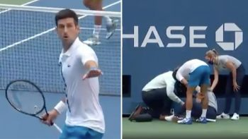 Djokovic disqualified from US Open after hitting official