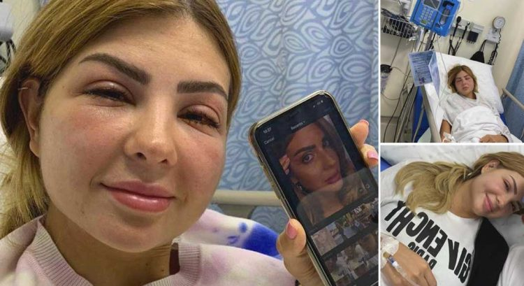 Dubai influencer raises alarm after eyelash treatment goes horribly wrong