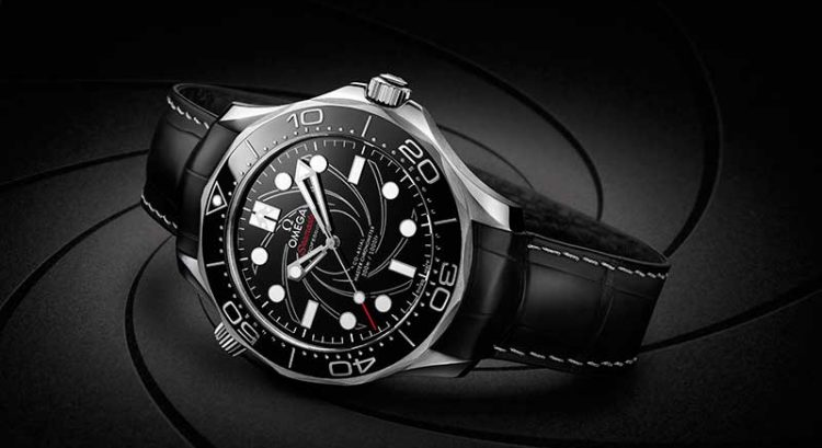 Omega goes platinum gold for new James Bond watch