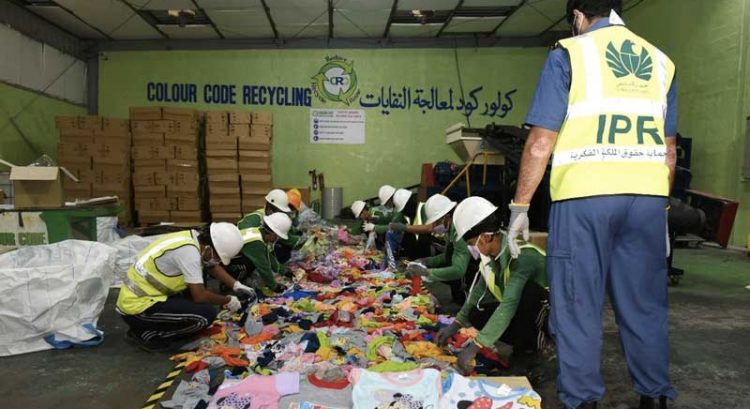 Dh3.2 million fake products recycled in Dubai