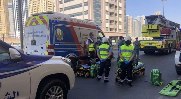Fire breaks out at Sharjah building, 2 injured