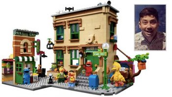 Sesame Street LEGO set designed by Filipino to be sold worldwide