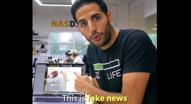 Nas Daily criticizes Al Jazeera Arabic for 'fake news' that he's an Israeli propagandist