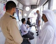 Spot inspections at Dubai bus shelters: violators, flyer distributors caught