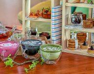 Healthy afternoon tea at The Retreat Palm Dubai