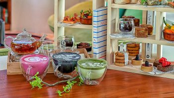 Healthy afternoon tea at The Retreat Palm Dubai