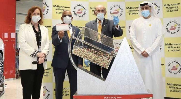 Indian wins $1 million, Filipina wins luxury car in Dubai Duty Free draw
