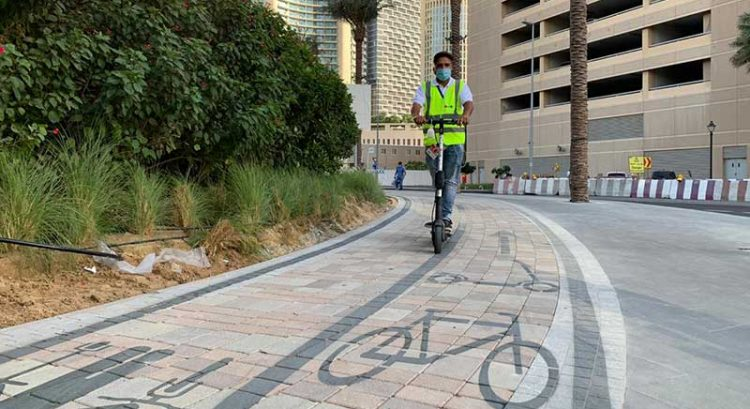E-scooters now available for rent in Dubai