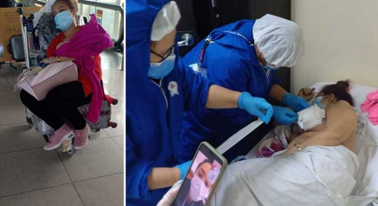 Dubai Filipina who hid breast cancer from family returns home, friends appeal for help