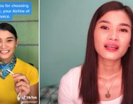 Cebu Pacific flight stewardess behind viral Tiktok trend loses job