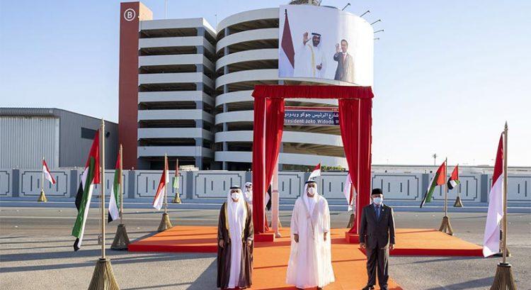 Look: Abu Dhabi street renamed after Indonesian president