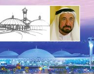 Sharjah ruler sketched what iconic airport should look like